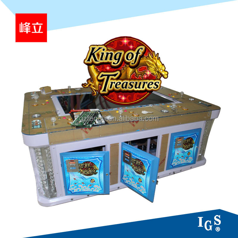 IGS original program the latest 816 verison king of treasure fishing game machine