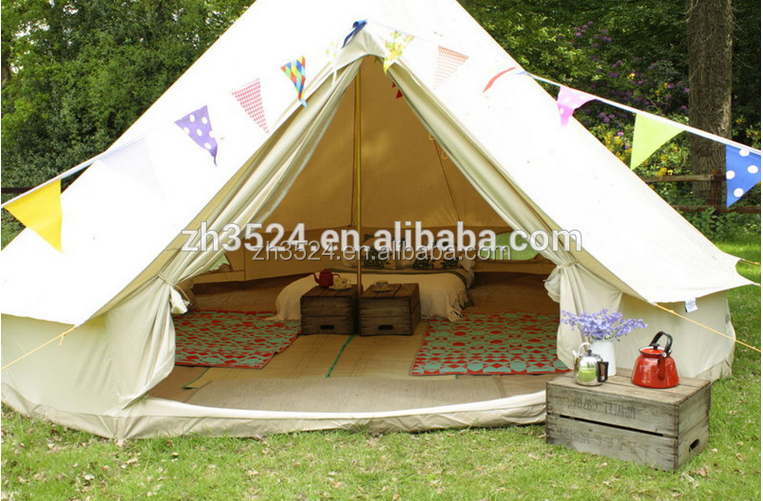 fireproof tent fire proof bell sahara canvas cotton outdoor camping family tent