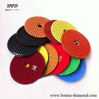 Diamond Resin Bond Polishing Pads for Granite/Marble stone grinding