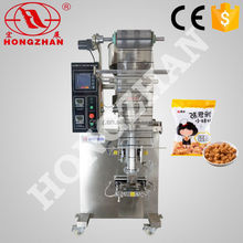 Zhejiang Hongzhan HP100G rice snack cereal candy automatic sugar packing and printing machine
