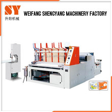 Industrial Roll Toilet Paper Roll Making Machine