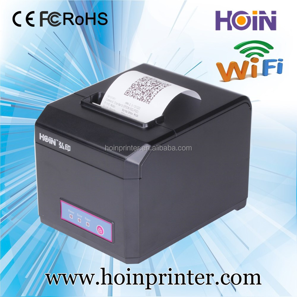 High-speed 80mm USB Receipt Thermal Printer Compatible with ESC / POS Print Commands Set