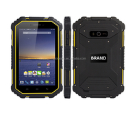 7 inch IP67 rugged android tablet pc 2G RAM 16G ROM MTK8732 quad core NFC 4G LTE dual sim shockproof waterproof