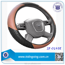 Fashionable PU silicone car Steering Wheel Cover