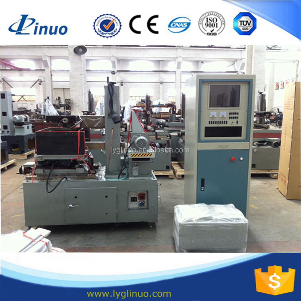 DK7735 0.18mm wire used cnc wire cutting machine price