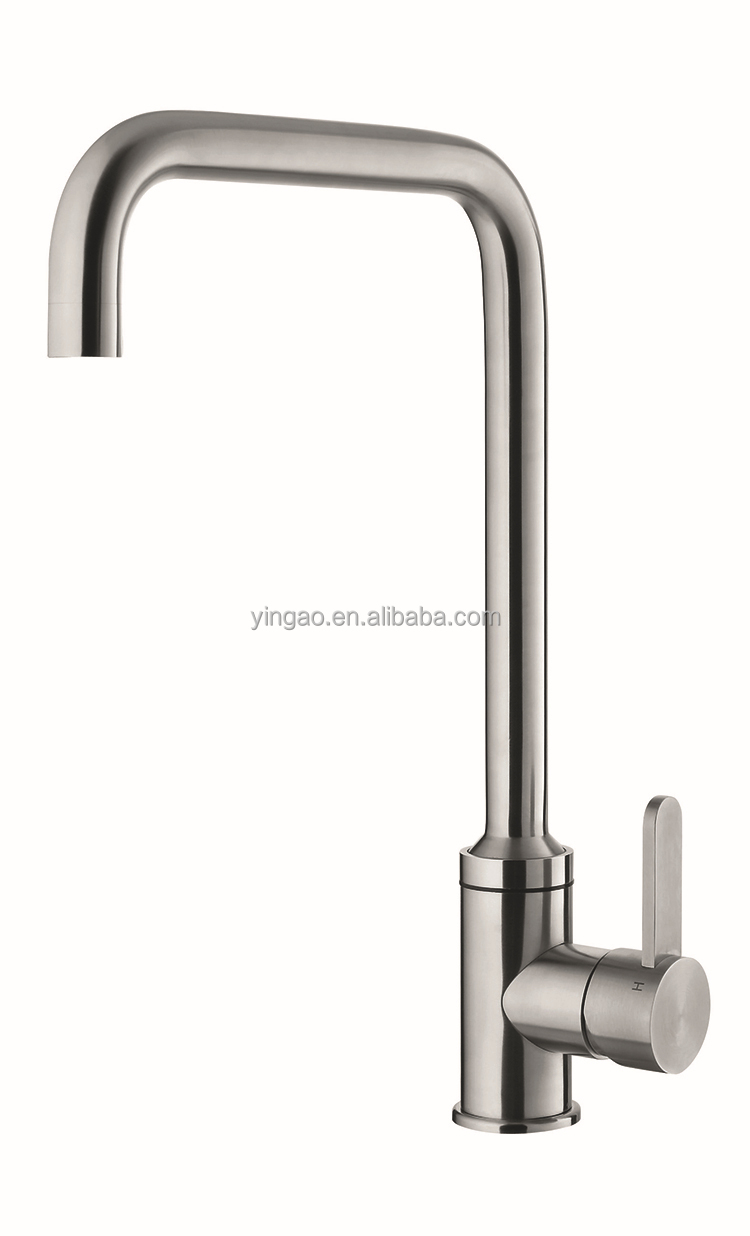 C29S High-tech touch activated single handle kitchen faucet