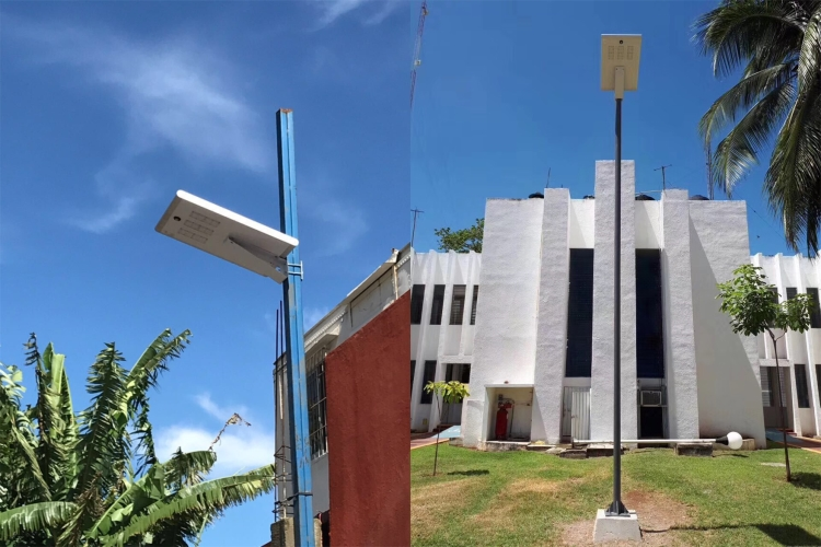 New AIO2 solar street light 30w 40W 50W 60W