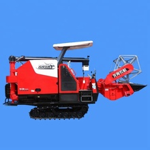 Agricultural equipment wheat rice harvesting machine mini reaper harvester paddy cutter