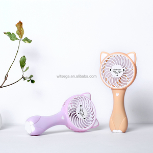 2018 New KC Cheap Price Rechargeable Mini Table Portable Handy Fox Fan