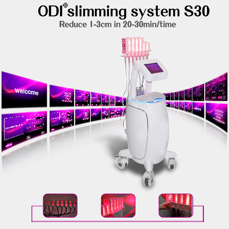 Hottest quick slim! Body slimming beauty diode lipo laser machine