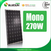 4BB yingli high efficiency 260w solar panel monocrystalline silicon solar panel 260 w 24v