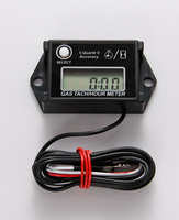 ATV outboard boat Motorcycle marine motocross pit bike jet ski LCD Waterproof Racing Inductive digital Hour Meter