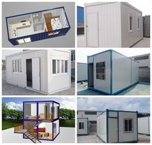 Environmental Friendly Flat Pack Container House Prefab Home Office , School
