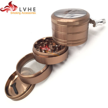 T049GA LVHE 2017 Newest Grinder Pokemon, Manual Pokemon Herb Grinder
