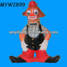 Sad Resin resin clown figurine