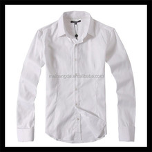 innovative new product white long sleeve branded low price casual shirts