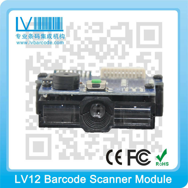barcode swipe reader Mini ccd barcode scanners LV12
