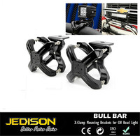 2'' to 3'' Bull Bar/Roll Bar Mount Bracket X Clamps for Off Road Light/LED Bar