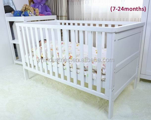 Wooden baby bedroom furniture designs baby cot