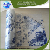 Custom hdpe printing plastic table cloth placemat and custom plastic table cover