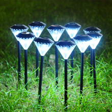 solar powered led fairy lights for garden decoration, diamond grow lamp