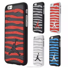 Air Jordan Sports Stripe Shoe Sole 3D Rubber Cell Phone Case For iphone 6