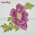 Fabric Motifs Embroidery Patches Lace Venice Applique Sew On Sticker