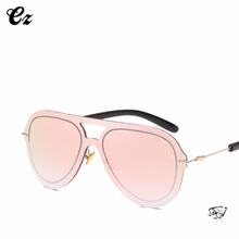 2018 one piece women fashion drive city vision sunglasses with your brand