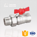 China manufacturer brass threaded ball valve