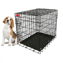 RoblionPet Factory Wholesale Aluminum Large Dog Cage Carrier , Big Small Pet Cage Carrier For Dog Airline Approved