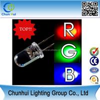 wholesale high brightness light emitting diode led bulb 3mm 5mm led rgb