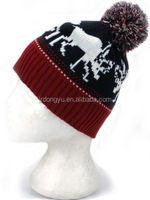 men acrylic knitted ski hat pattern