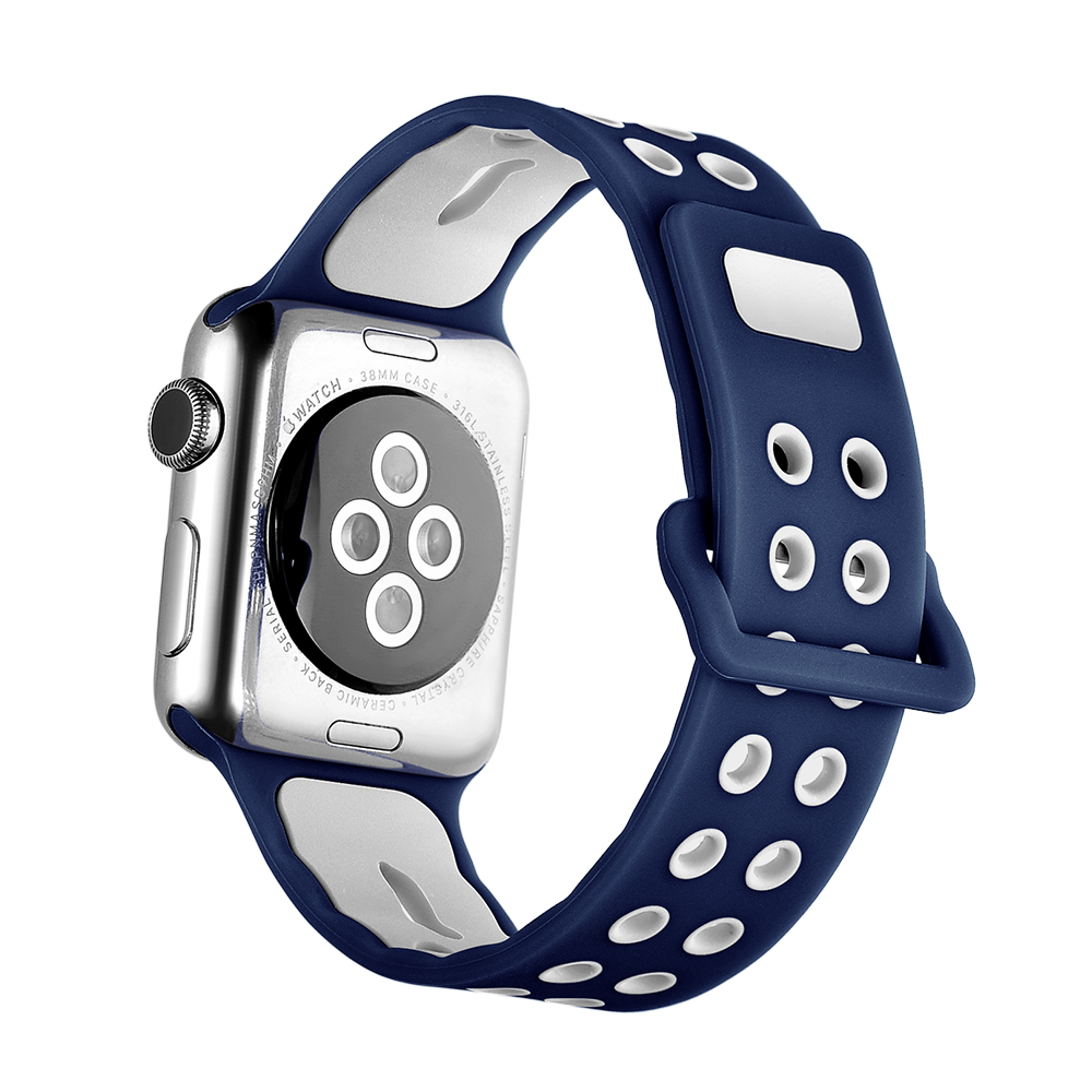 New Soft Silicone Sport Band Iwatch Strap for Apple Wrist Watch