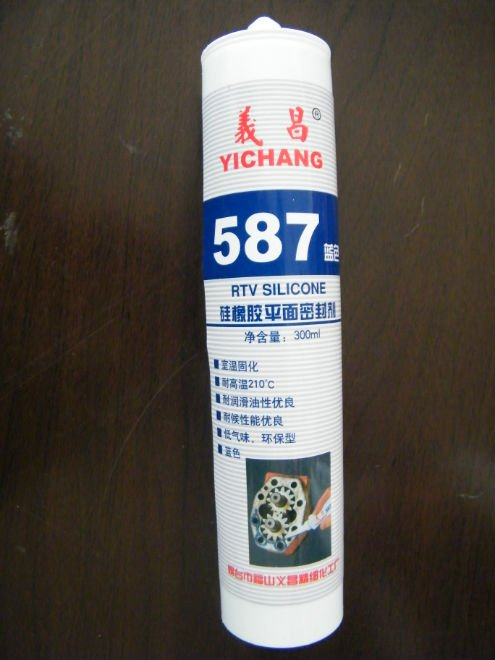 RTV silicone sealant & gasket maker for high temperature working metal flange