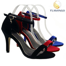FLAMINGO 2017 LATEST ODM OEM beautiful ladies high heel fancy sandals party shoes