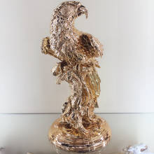 home office indoor decor resin eagle bird sculpture