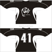 Custom reversible sublimated ice hockey jersey in china