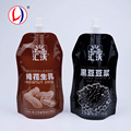 Hot Sale Kids Soft Stand Up Squeeze Pouch Soy Milk Storage Plastic Flask For Wholesale