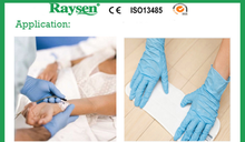 Disposable Powder Free Examination Nitrile Gloves wholesale for food