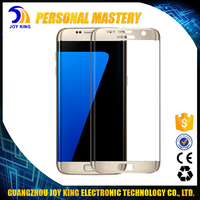 Full Cover 3D Curved Tempered Glass Touch Screen Glass Film For Samsung S7 Edge Screen Protector