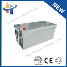 2014 Top Brand 12v 200ah solar energy storage battery