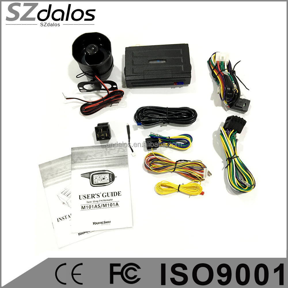2-way Car Alarm System Magicar M903f English Version Two Way Car ...