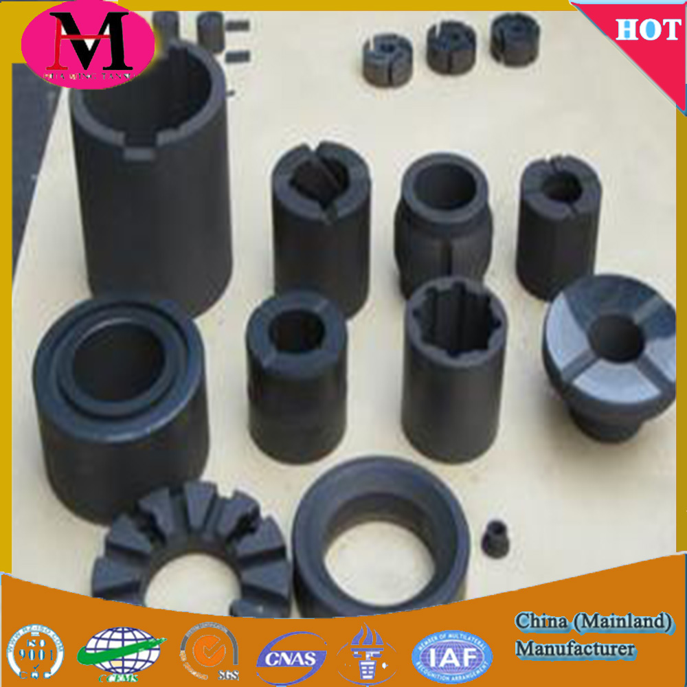 Graphite plugged oilles bearing self-lubricating trust washer bush CuSn12 bronze bushing