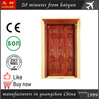 used solid wood exterior doors for Home Furniture/ double doors
