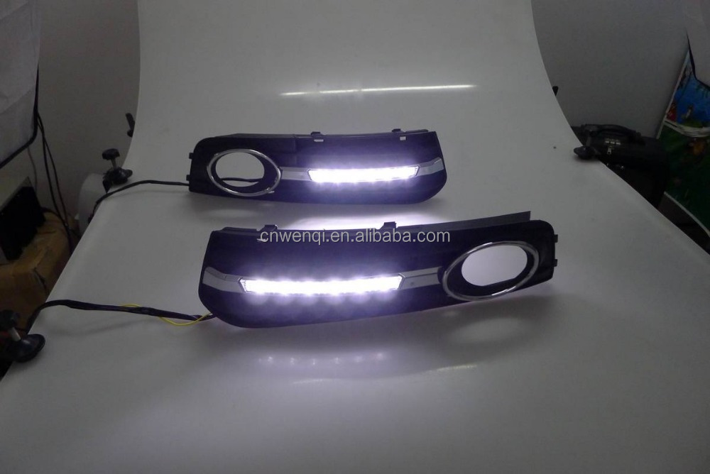 Refitting LED DRL car lamp for AUDI A4L Daytime running light 2009-2012