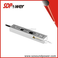 SDPower china wholesale 30w 12v 24v constant voltage led driver with single output waterproof