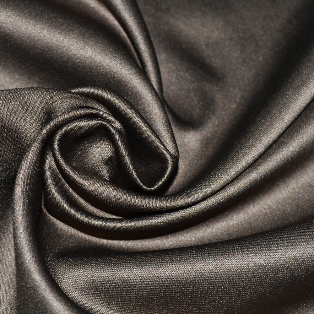 2017 textile from China polyester satin custom your own design bridal fabric for evening fress