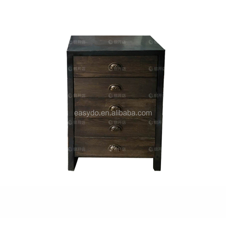 Hign quality wood display stand cabinet with drawer for retail store
