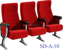 High quality auditorium used church chairs SD-A-10