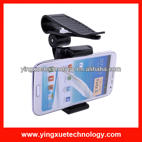 Sun Visor Car Phone Mount Holder